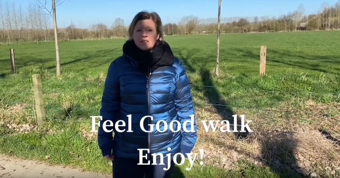 feel good walk